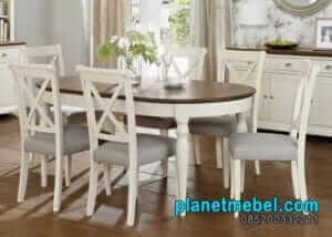 Meja Makan Putih Type Virenza