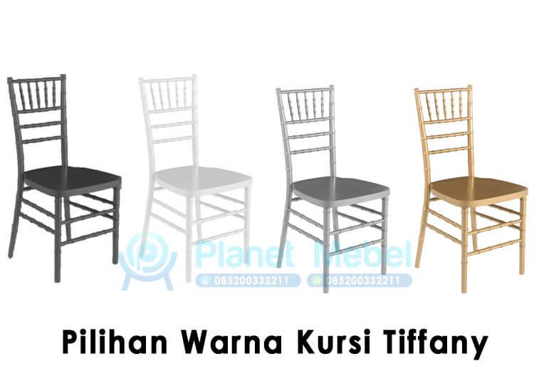 Pilihan Warna Kursi Tiffany