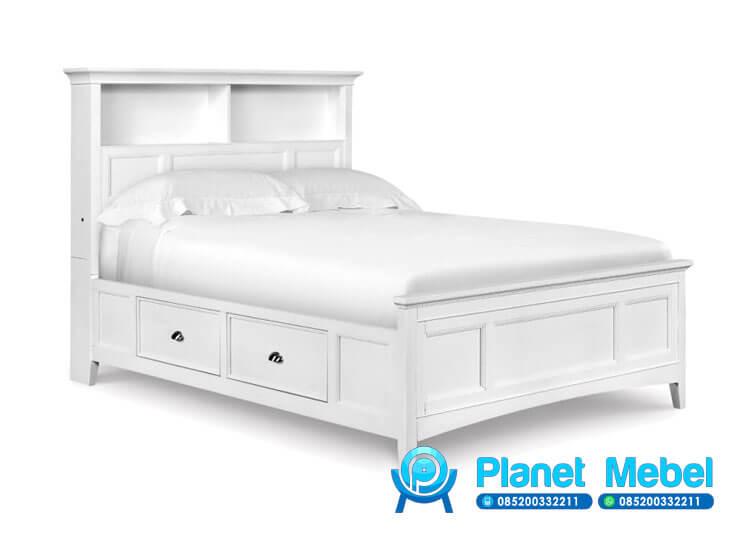 Tempat Tidur Anak Minimalis, Tempat Tidur Anak, Tempat Tidur Anak Laci Minimalis, Tempat Tidur Anak Warna Putih