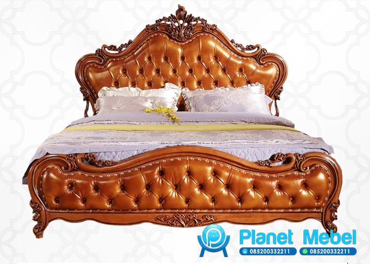 Harga Tempat Tidur Jati Klasik Ukiran Jepara
