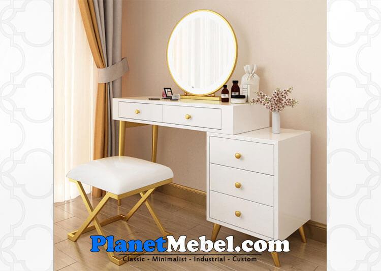 Meja Rias Putih Modern Minimalis